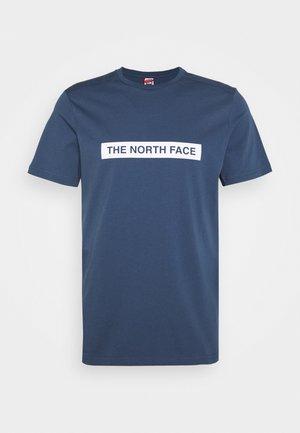 LIGHT TEE - T-shirt imprimé - blue wing teal