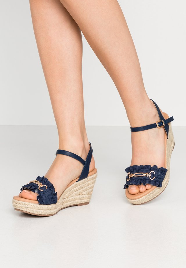 WHISTLE - Espadrillot - navy