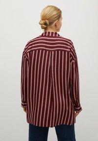 Violeta by Mango - RALLON - Button-down blouse - maroon - 2