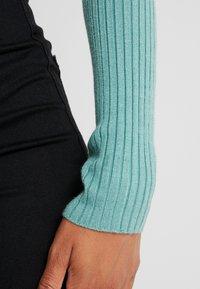 Even&Odd - Stickad tröja - turquoise - 3