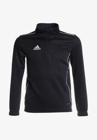 adidas Performance - CORE 18 TRAINING TOP - Koszulka sportowa - black/white - 0