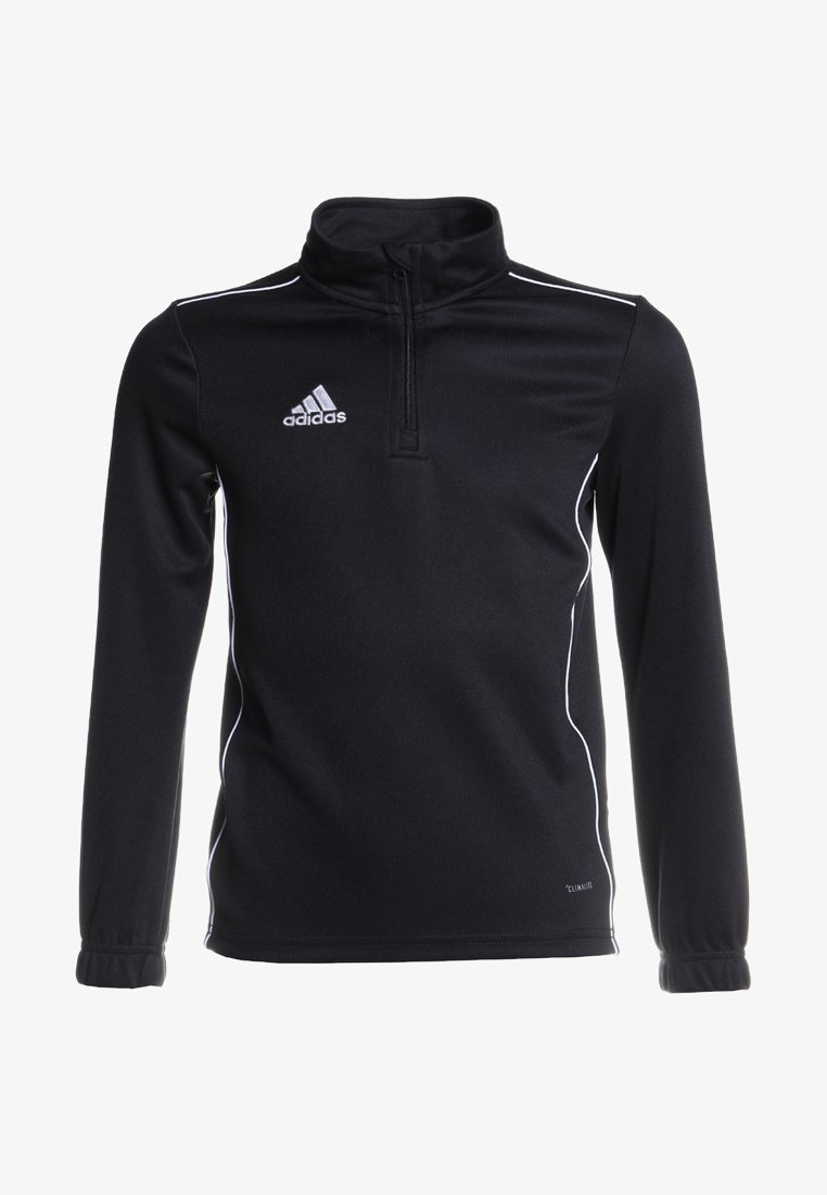 adidas Performance - CORE 18 TRAINING TOP - Sports shirt - black/white
