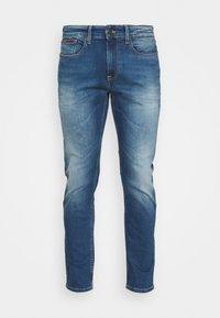 Tommy Jeans - AUSTIN SLIM - Slim fit -farkut - wilson mid blue - 4