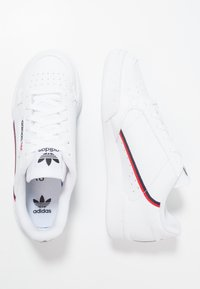 adidas Originals - CONTINENTAL 80 - Trainers - footwear white/scarlet/collegiate navy - 0