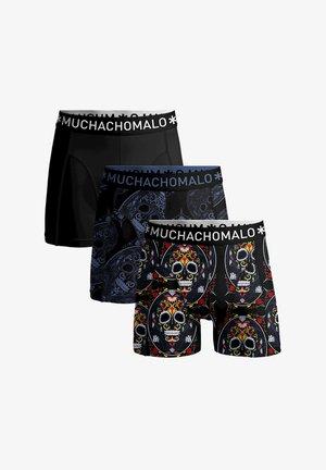 3-PACK MUERTO - Pants - blue/black/print