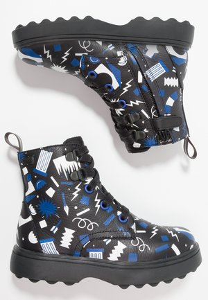 NORTE KIDS - Lace-up ankle boots - multicolor
