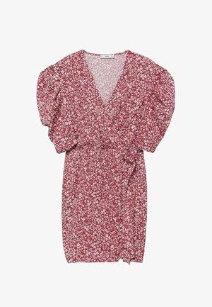 Denní šaty - donkerrood