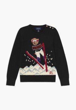SKI JUMP  - Pullover - polo black