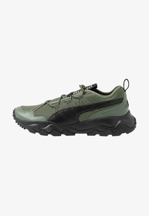 EMBER - Trail running shoes - thyme/black