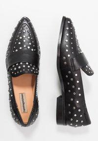 Copenhagen Shoes - Nazouvací boty - black - 3