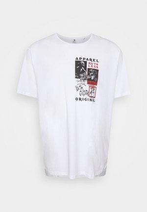 TEE - T-shirt print - white