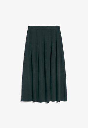LEAAHNA - A-lijn rok - vintage green