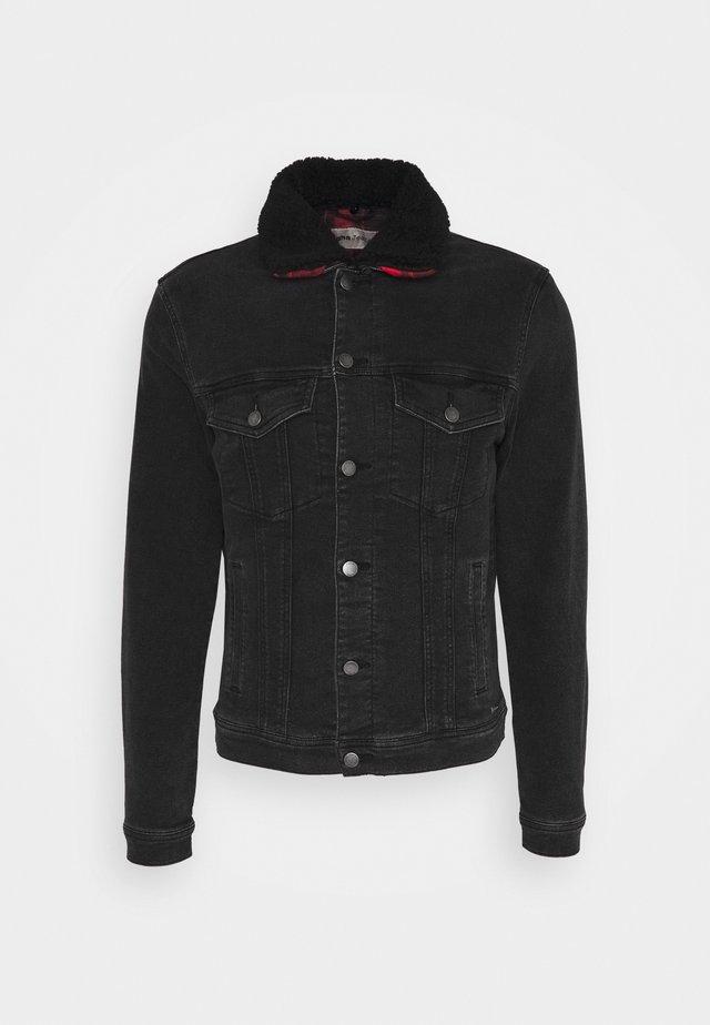 HIRON - Spijkerjas - vintage black