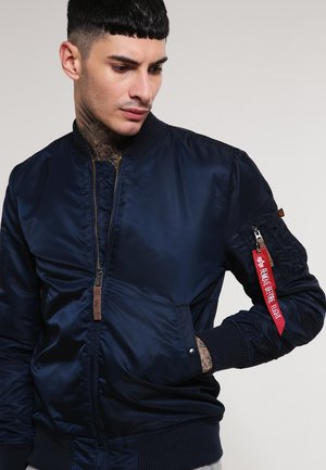 Bomber Jacket - republica blue
