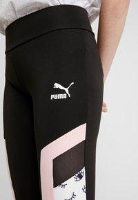 Puma - PUMA X MAYBELLINE - Legíny - black - 4