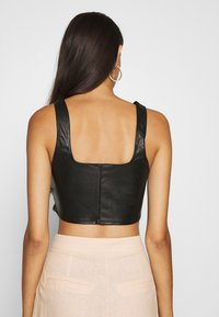 Nly by Nelly - LOOK CORSET - Top - black - 2