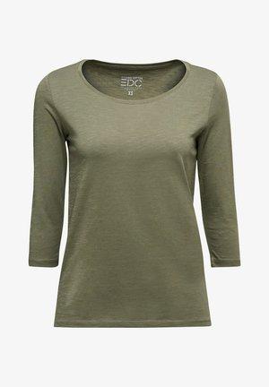 Long sleeved top - khaki green