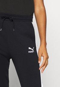 Puma - CLASSICS TRACK PANT  - Pantaloni sportivi - black - 4