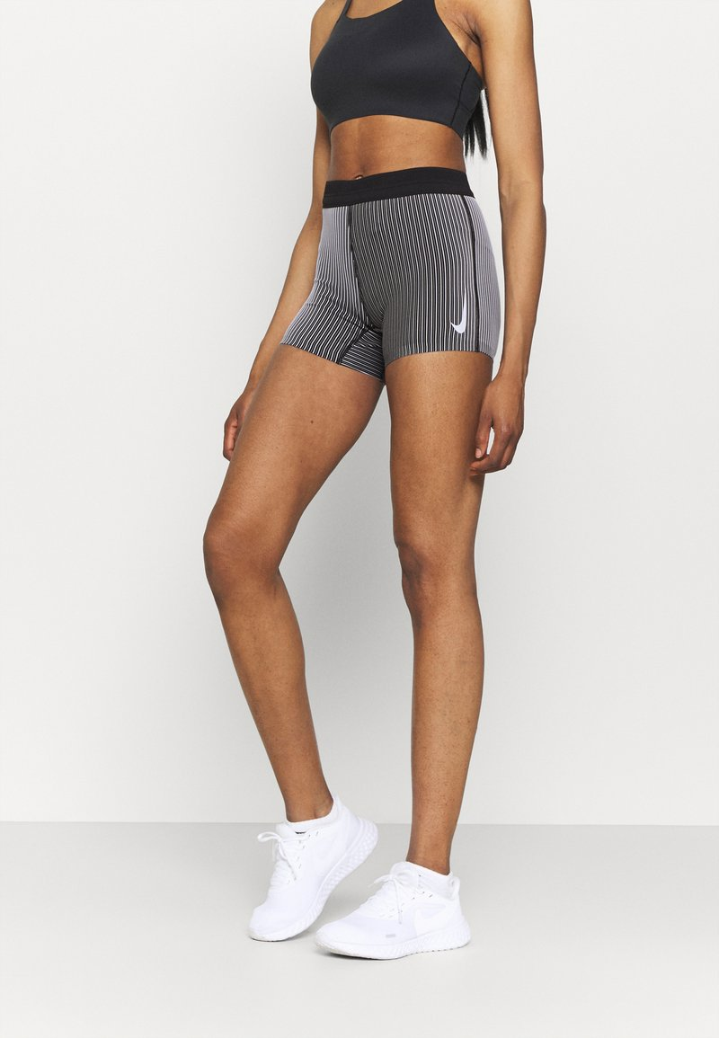 Nike Performance - AEROSWIFT SHORT - Collants - iron grey/black/white