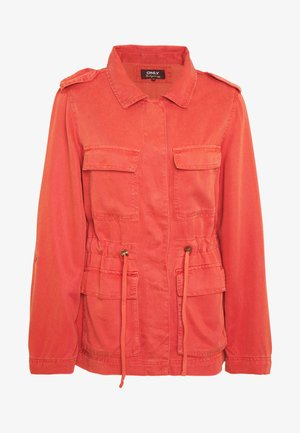 ONLKENYA LIFE UTILITY JACKET - Manteau court - hot sauce