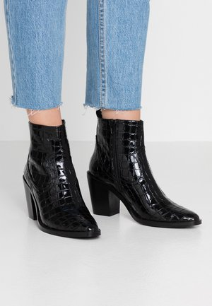 LOCK - Boots à talons - black