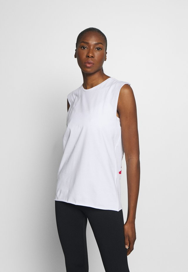 TANK REMEMBER WHITE - Toppe - white