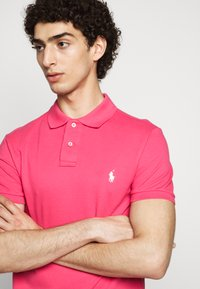 Polo Ralph Lauren - SLIM FIT MESH POLO SHIRT - Polo shirt - hot pink - 3