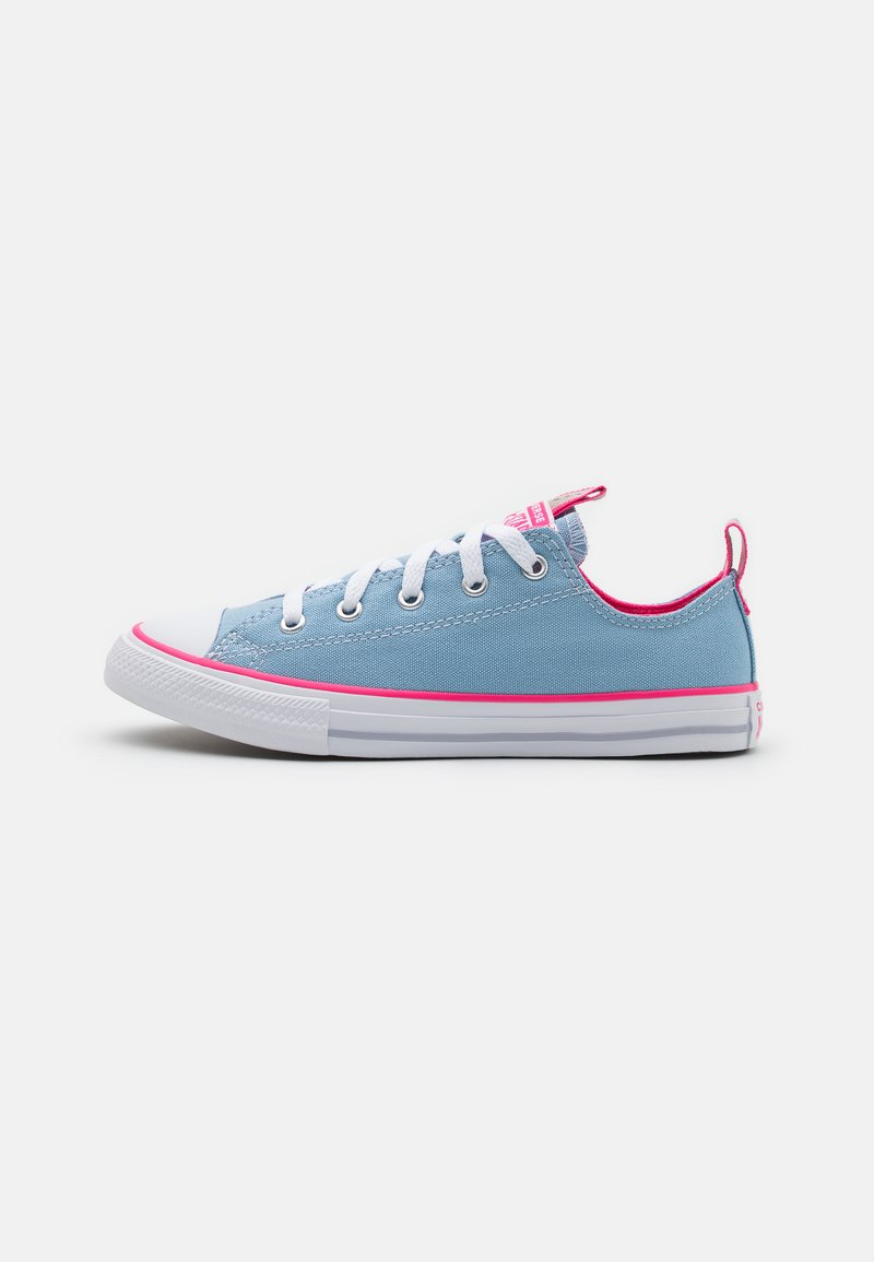 Converse - CHUCK TAYLOR ALL STAR COLOR POPPED - Trainers - sea salt blue/bold pink/white