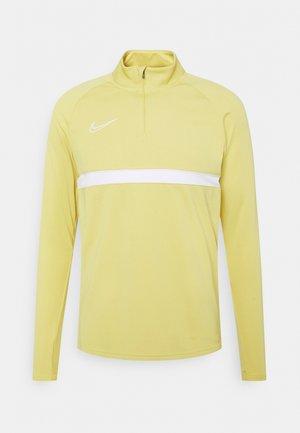 ACADEMY DRIL - Sportshirt - saturn gold/white/white/white