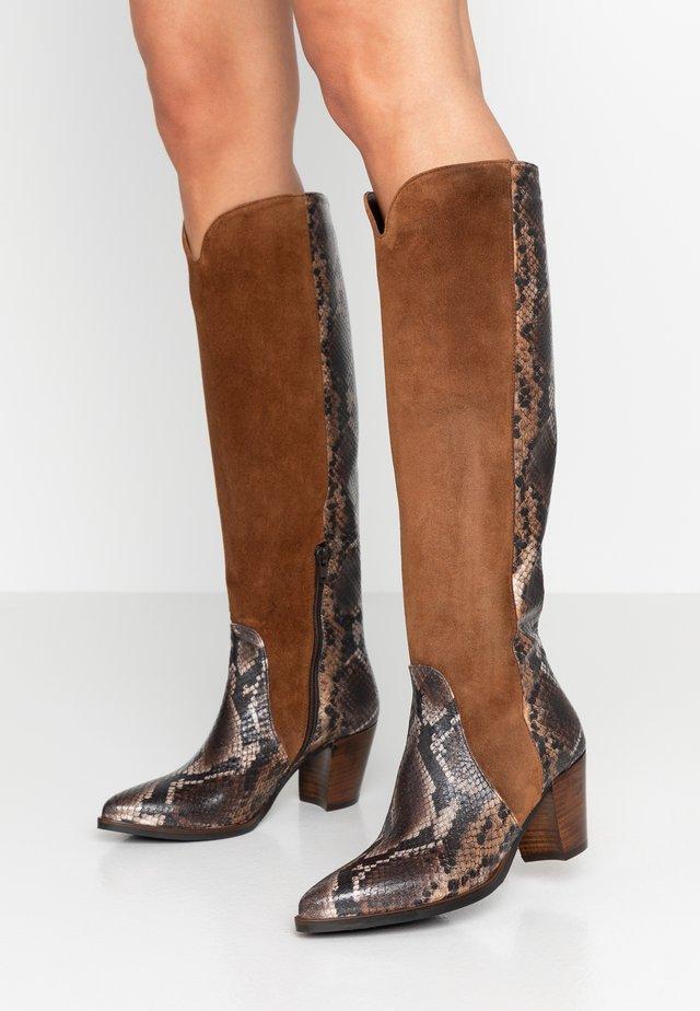 Cowboy/Biker boots - patagunia rovere/bruciato