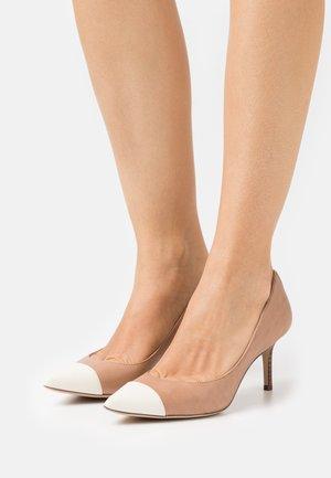 LANETTE - Classic heels - nude/vanilla