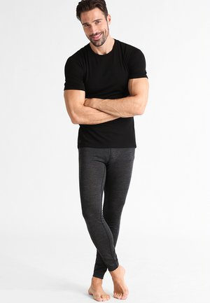 MENS ANATOMICA CREWE - Basic T-shirt - black/monsoon