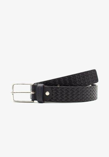 Braided belt - blu