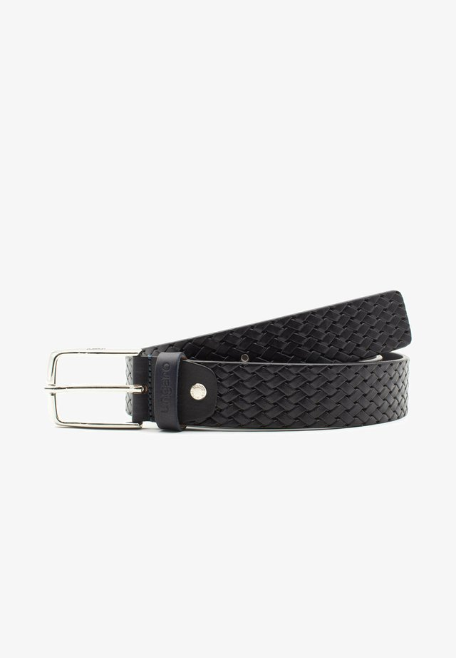 Cintura intrecciata - blu
