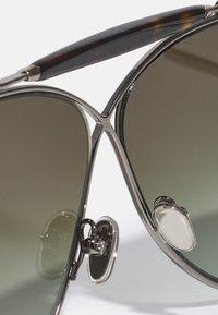 Tom Ford - UNISEX - Zonnebril - shiny gunmetal/ brown mirror - 4