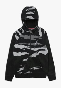 Jordan - WINGS FULL ZIP CAMO - Zip-up hoodie - black - 0