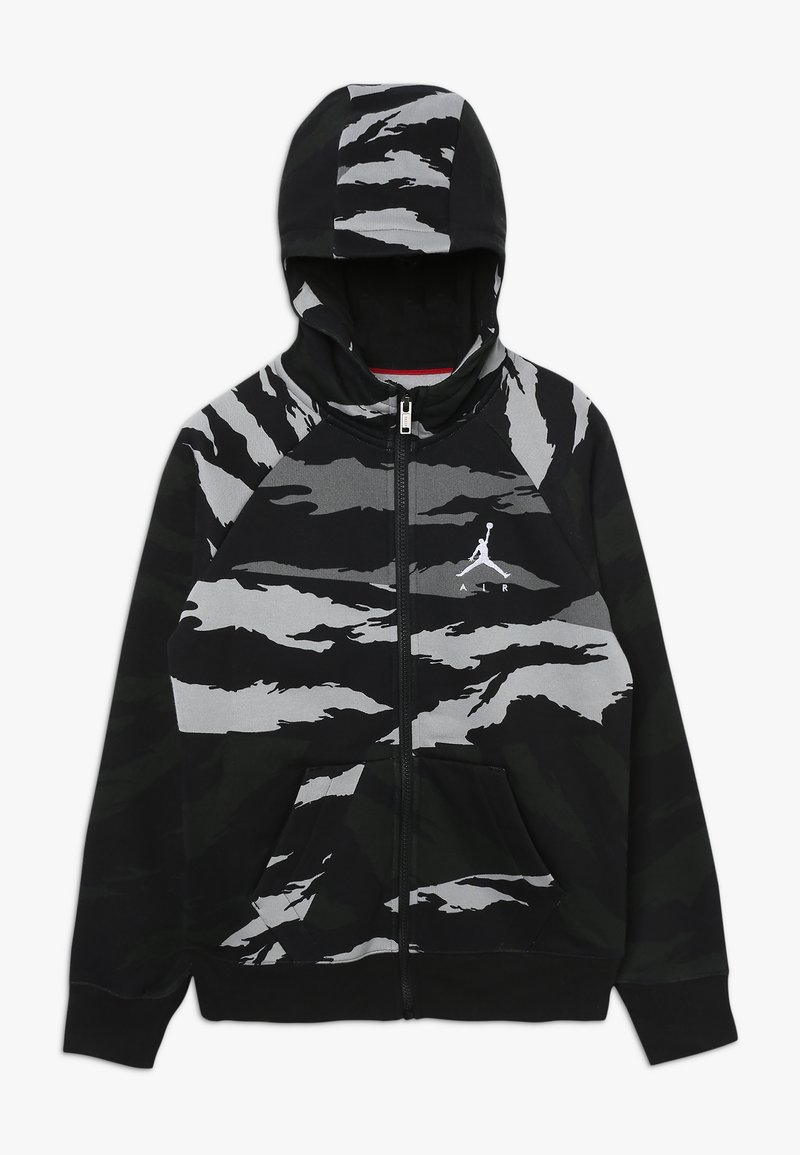 Jordan - WINGS FULL ZIP CAMO - Zip-up hoodie - black