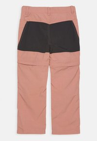 Color Kids - 2-IN-1 ZIP OFF UNISEX - Outdoor trousers - ash rose - 1
