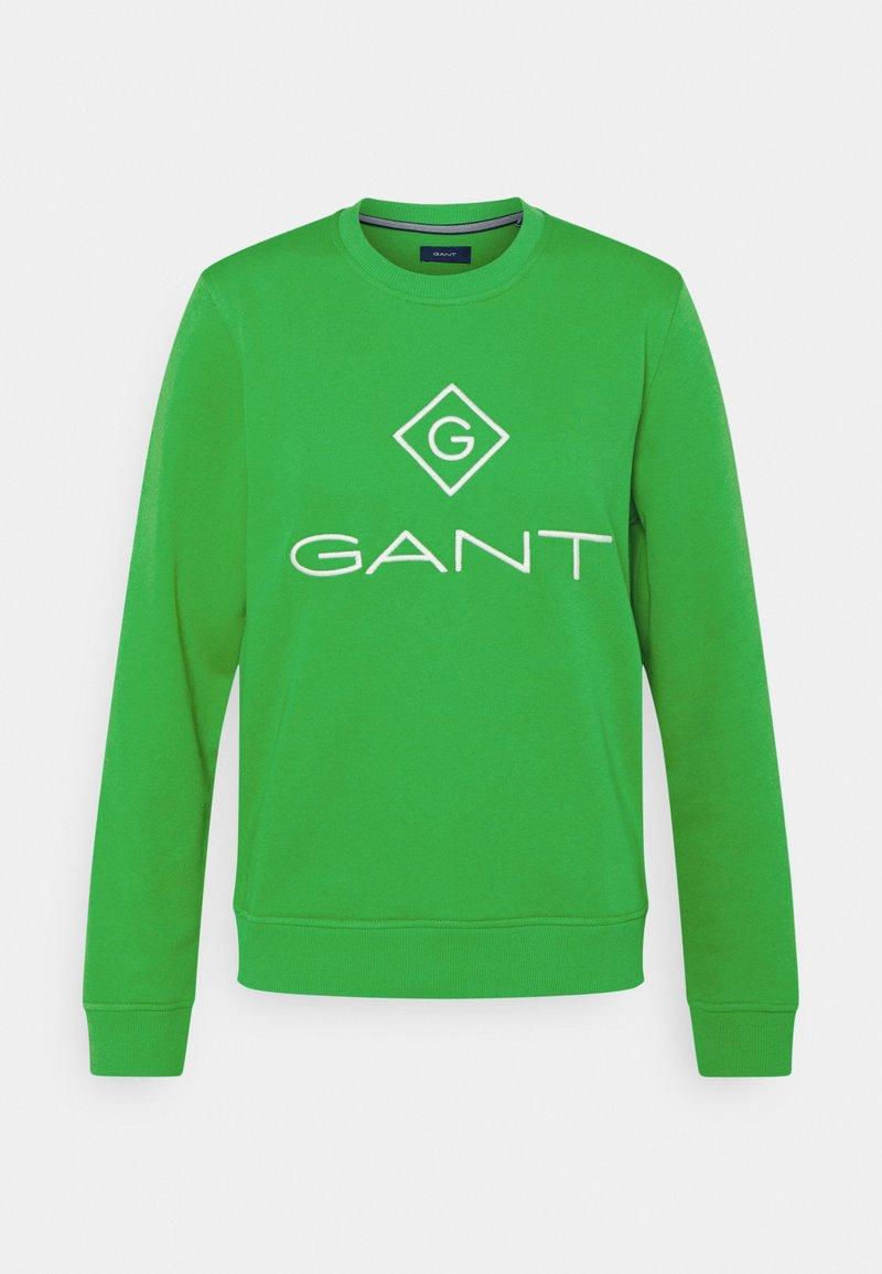 GANT - LOCK UP C-NECK - Sweatshirt - fern green