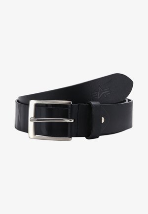 EMBOSSED BELT - Pásek - black