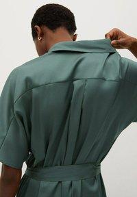 Mango - Košilové šaty - groen - 4