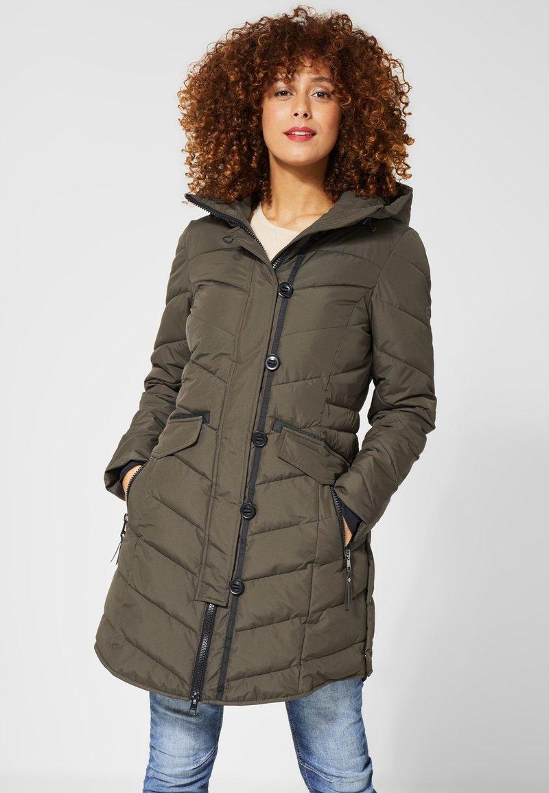 Street One - Winter coat - green