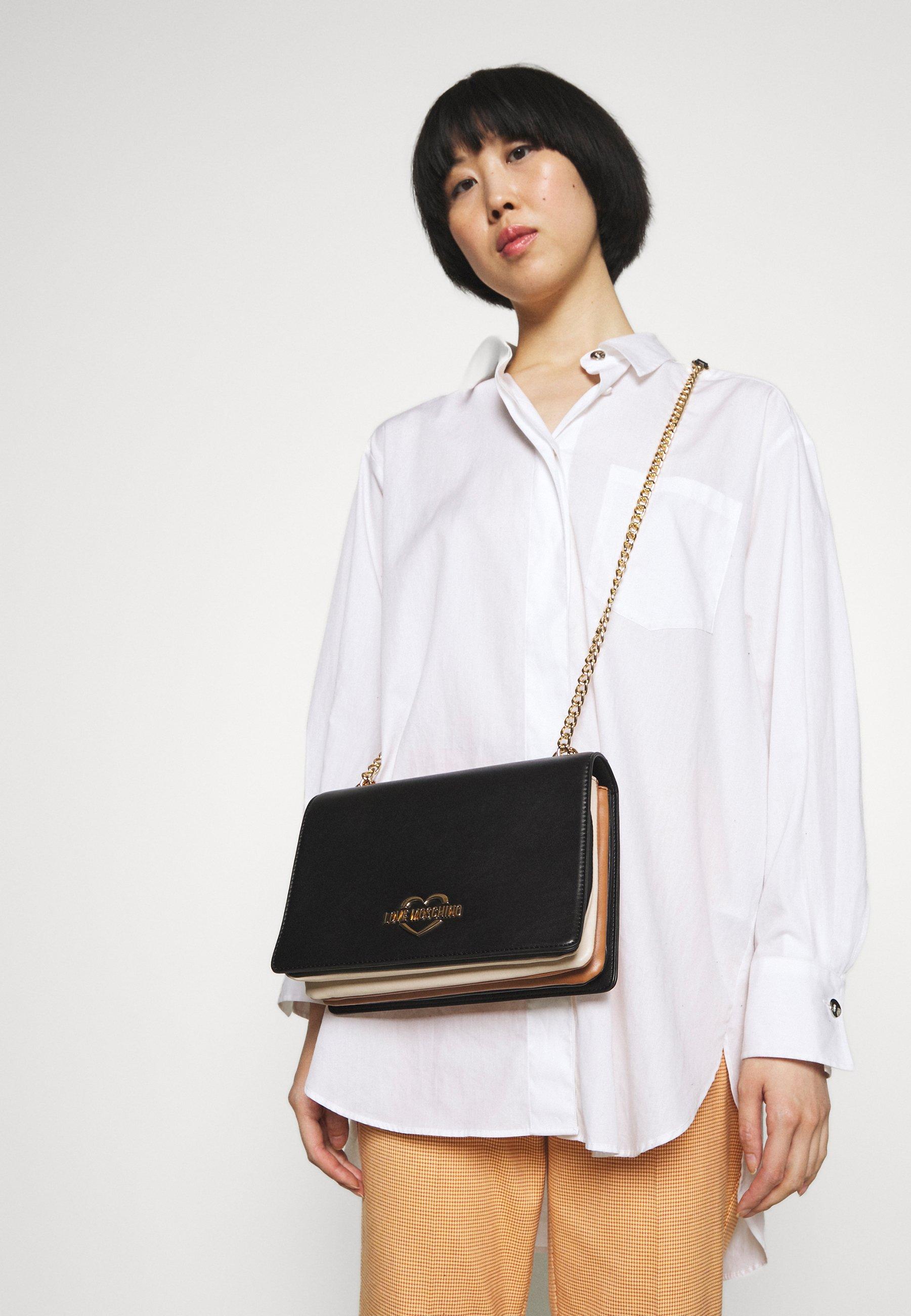 Women COLOUR BLOCK ON SIDE SHOULDER - Handbag