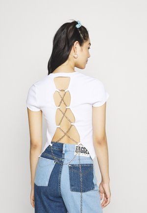 SPACED - T-shirt print - white
