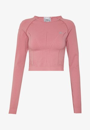 ONPJAVA CIRCULAR CROPPED - Sportshirt - dusty rose