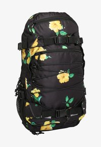 Forvert - Rucksack - black hibiscus - 0
