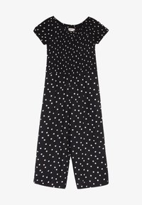 Abercrombie & Fitch - PREP SMOCKED  - Overal - black - 2