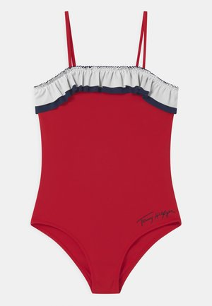 ONE PIECE - Plavky - primary red