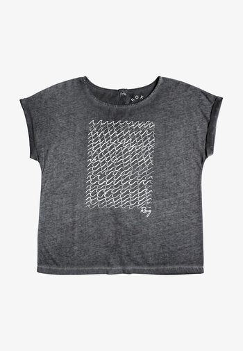 SUMMERTIMEHAPIN - Print T-shirt - anthracite