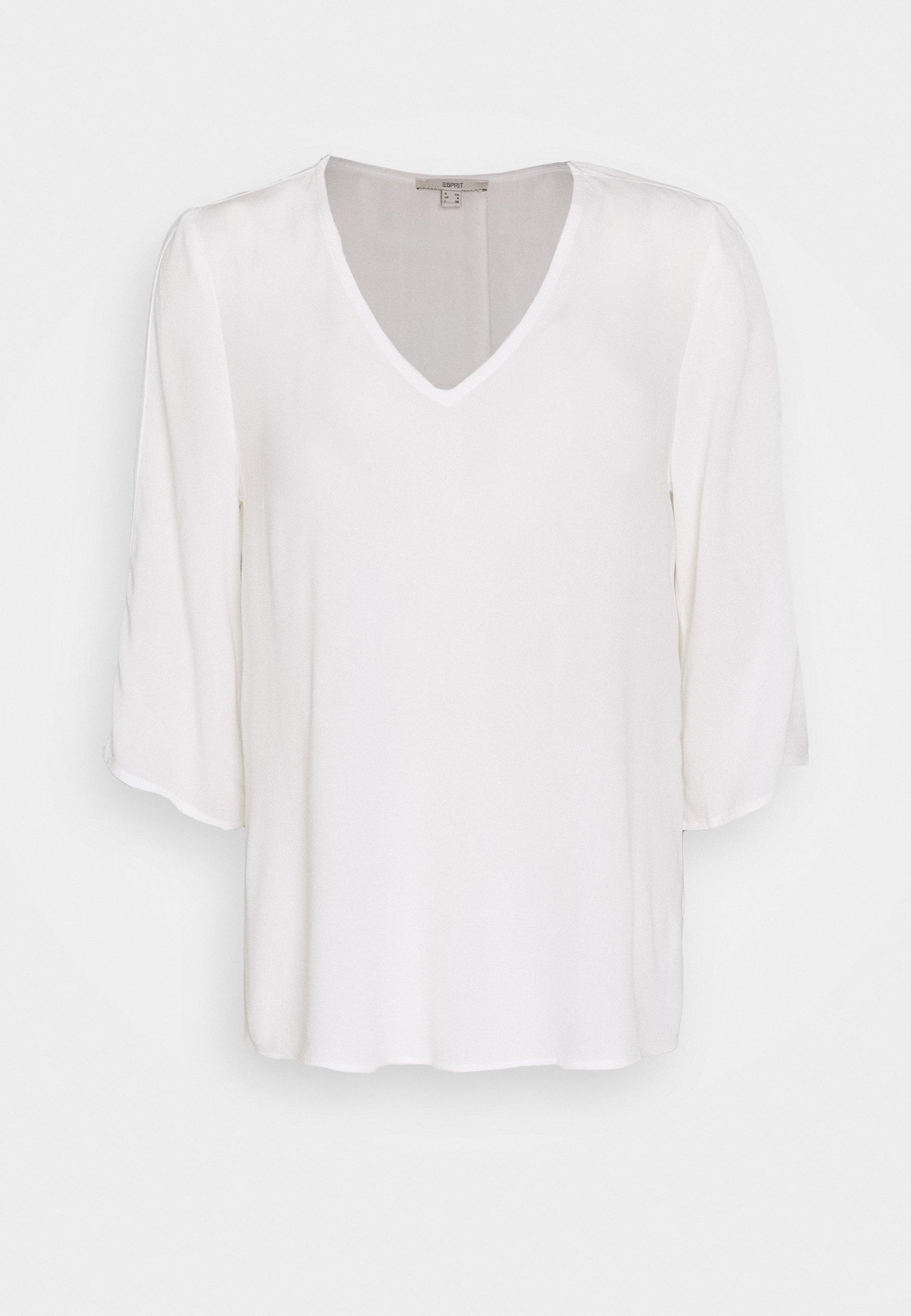 Esprit BLOUSE - Blouse - off white - Dameskleding Uniseks